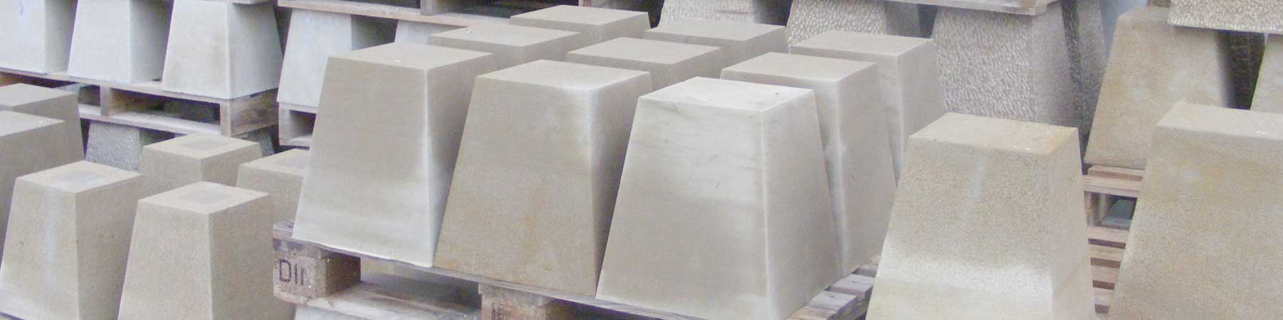 Basas de piedra natural