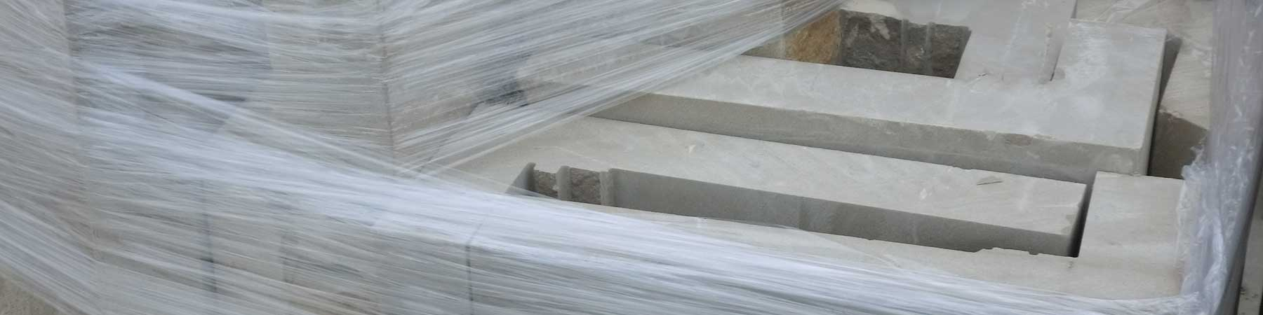 Esquinas vaciadas de piedra natural