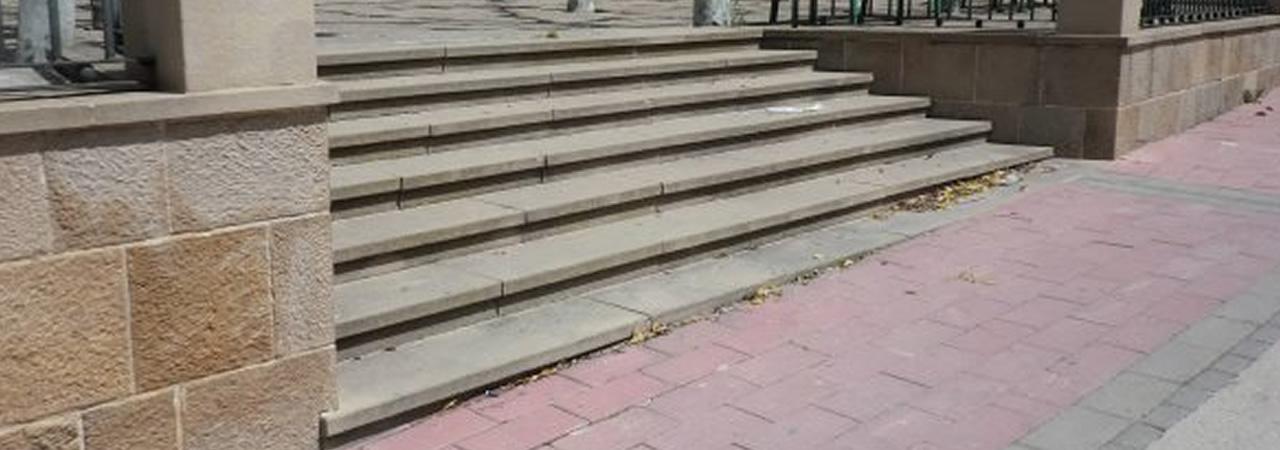 gradas de piedra