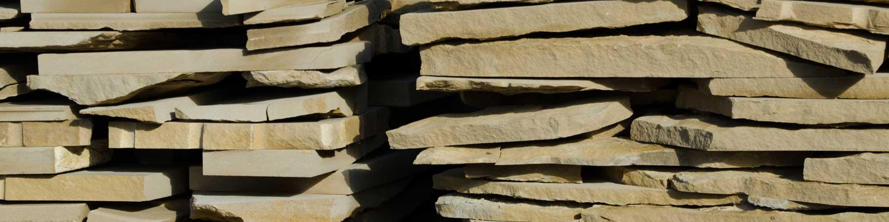 Lajas de piedra natural de 5cm